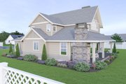 Craftsman Style House Plan - 4 Beds 3 Baths 2935 Sq/Ft Plan #1070-101 Photo