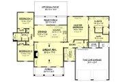 Farmhouse Style House Plan - 3 Beds 2 Baths 1745 Sq/Ft Plan #430-188 Floor Plan - Main Floor