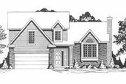 Traditional Style House Plan - 3 Beds 2.5 Baths 1225 Sq/Ft Plan #58-116