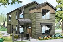 House Plan Design - Exterior - Front Elevation Plan #124-1004
