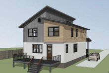 Dream House Plan - Contemporary Exterior - Other Elevation Plan #79-316