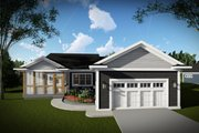 Ranch Style House Plan - 2 Beds 2 Baths 1730 Sq/Ft Plan #70-1459