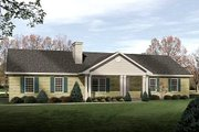 Ranch Style House Plan - 3 Beds 2 Baths 1428 Sq/Ft Plan #22-538