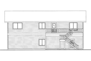 Traditional Exterior - Front Elevation Plan #117-791