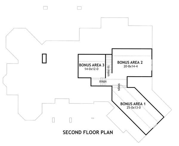 Craftsman Floor Plan - Other Floor Plan #120-165