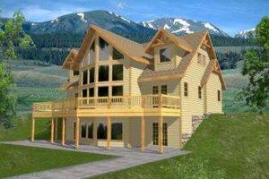 Modern Exterior - Front Elevation Plan #117-380