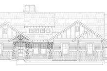 Dream House Plan - Craftsman Exterior - Front Elevation Plan #932-281