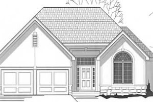 Traditional Exterior - Front Elevation Plan #67-465