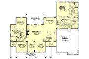 Farmhouse Style House Plan - 3 Beds 2 Baths 2469 Sq/Ft Plan #430-147 Floor Plan - Main Floor Plan