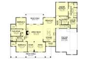 Farmhouse Style House Plan - 3 Beds 2 Baths 2469 Sq/Ft Plan #430-147 Floor Plan - Main Floor Plan
