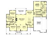 Farmhouse Floor Plan - Main Floor Plan Plan #430-147