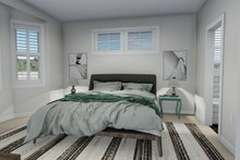 Ranch Interior - Master Bedroom Plan #1060-12
