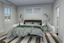 Dream House Plan - Ranch Interior - Master Bedroom Plan #1060-12