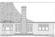 Cottage Style House Plan - 3 Beds 4 Baths 1957 Sq/Ft Plan #137-260 Exterior - Rear Elevation