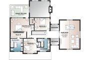 Farmhouse Style House Plan - 5 Beds 3 Baths 3599 Sq/Ft Plan #23-2688 Floor Plan - Upper Floor Plan