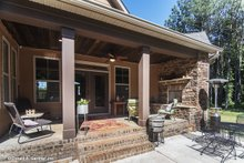 Traditional Exterior - Outdoor Living Plan #929-911