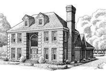 House Design - European Exterior - Front Elevation Plan #410-126