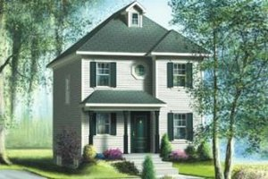 Farmhouse Exterior - Front Elevation Plan #25-4038