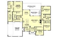 European Floor Plan - Main Floor Plan Plan #430-142
