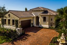 Mediterranean Exterior - Front Elevation Plan #930-480