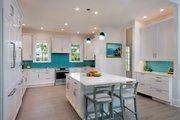 Cottage Style House Plan - 4 Beds 3 Baths 2483 Sq/Ft Plan #938-87 Interior - Kitchen