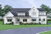 Farmhouse Style House Plan - 4 Beds 3.5 Baths 2527 Sq/Ft Plan #1070-42 Exterior - Front Elevation