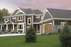 Craftsman Exterior - Front Elevation Plan #51-303