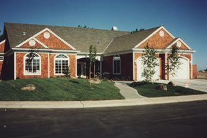 Home Plan - Ranch Exterior - Front Elevation Plan #437-1