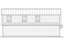 House Plan Design - Craftsman Exterior - Other Elevation Plan #124-1038