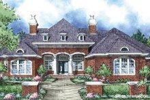Home Plan - European Exterior - Front Elevation Plan #930-296