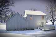 Farmhouse Style House Plan - 3 Beds 2.5 Baths 1484 Sq/Ft Plan #70-1453 Exterior - Rear Elevation