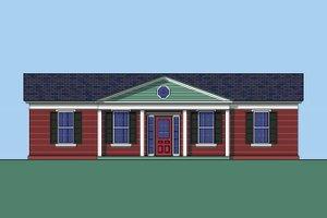 Classical designed home, elevation