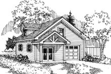 Dream House Plan - Craftsman Exterior - Front Elevation Plan #124-660
