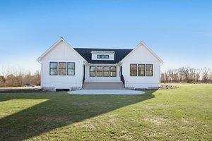 Farmhouse Exterior - Rear Elevation Plan #928-328