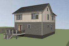 Home Plan - Country Exterior - Rear Elevation Plan #79-284