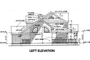 Southern Style House Plan - 3 Beds 3 Baths 1994 Sq/Ft Plan #120-138 Exterior - Other Elevation