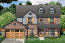 Home Plan - Traditional Exterior - Front Elevation Plan #84-394