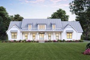 Farmhouse Exterior - Front Elevation Plan #1074-39