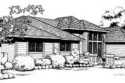 Traditional Style House Plan - 3 Beds 2 Baths 1936 Sq/Ft Plan #85-120 Exterior - Front Elevation