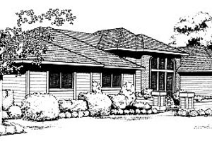 Traditional Exterior - Front Elevation Plan #85-120
