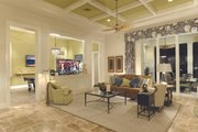 Mediterranean Style House Plan - 4 Beds 4.5 Baths 4287 Sq/Ft Plan #930-508 Interior - Other