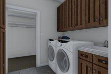 House Plan Design - Craftsman Interior - Laundry Plan #1060-70
