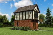 Tudor Style House Plan - 1 Beds 1 Baths 628 Sq/Ft Plan #48-999 Exterior - Other Elevation