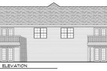 Traditional Exterior - Rear Elevation Plan #70-742