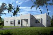 Adobe / Southwestern Style House Plan - 3 Beds 2 Baths 1582 Sq/Ft Plan #1-1299