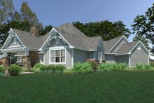 Home Plan - Cottage Exterior - Rear Elevation Plan #120-252