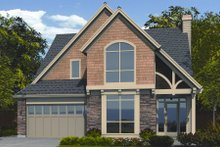Home Plan - Craftsman Exterior - Front Elevation Plan #48-252