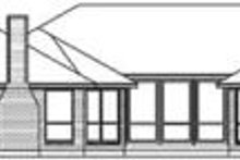 House Design - Traditional Exterior - Rear Elevation Plan #84-184