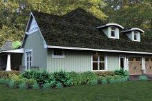 Dream House Plan - Craftsman Exterior - Other Elevation Plan #120-181