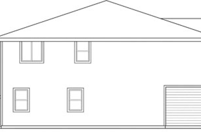 Traditional Exterior - Other Elevation Plan #124-816 - Houseplans.com